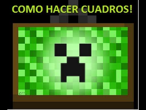 Como hacer un Marco-Item Frame?? Minecraft 1.4.2 - YouTube