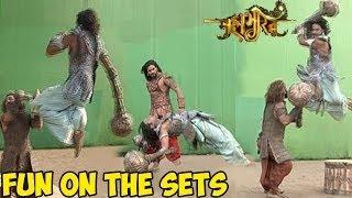 Mahabharat : OMG! Mahabharat's UNSEEN Fun On the Sets LEAKED