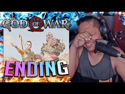 KEREN PARAH DAH! GOD OF WAR GOD MODE #ENDING