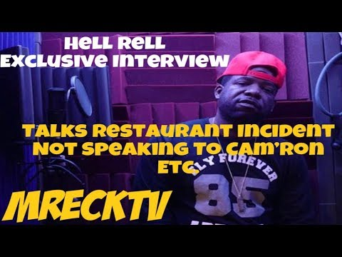 Hell Rell Interview,Not On Speaking Terms W/ Cam'ron,Getting Ran Down On In Front Of Family.