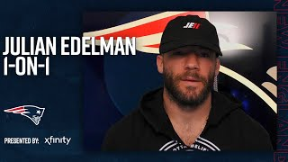 Julian Edelman On Chemistry With Cam Newton | Player 1-on-1