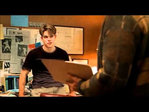 "Famous Movie Scene: Good Will Hunting ""It"