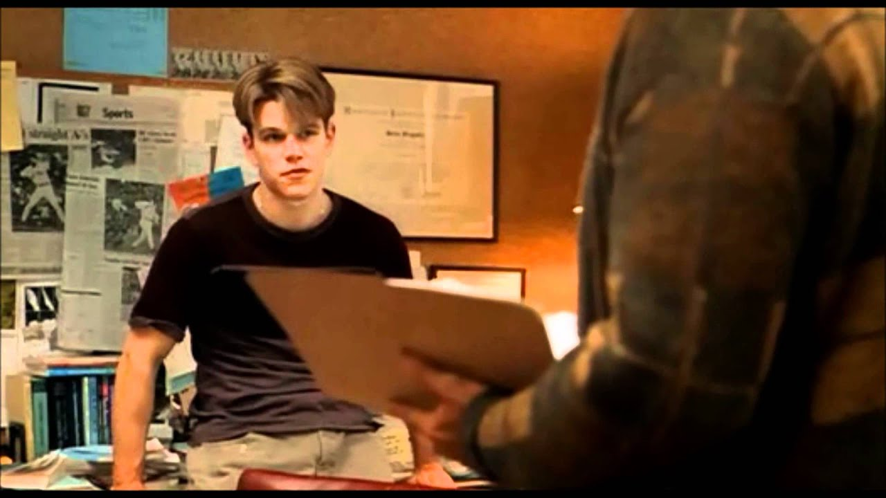 Famous Movie Scene Good Will Hunting It S Not Your Fault Hd