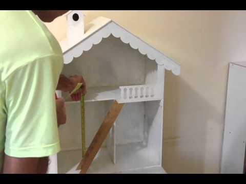 artesanato em mdf : ... com escadinha e comodos grandes feita em mdf artesanato - YouTube