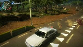 Just Cause 2 gameplay (PC)