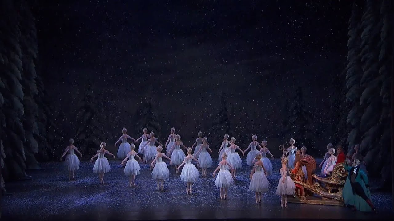 The Nutcracker The Waltz Of The Snowflakes The Royal Ballet Youtube