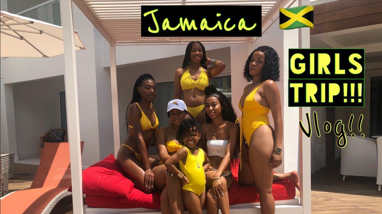 JAMAICA GIRLS TRIP!!// spring break vlog