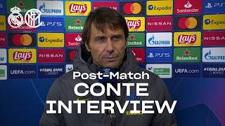 REAL MADRID 3-2 INTER | ANTONIO CONTE EXCLUSIVE INTERVIEW: