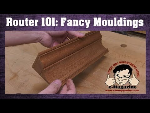 How To Make Any Moulding With Regular Router Bits Crown Molding