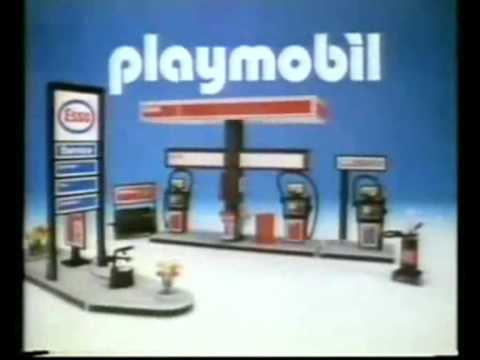 Find A Gas Station >> Playmobil - TV Spot - England - Esso Gas Station - YouTube