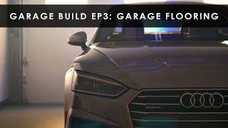 Garage Build   Epoxy and Modular Flooring   Part 3