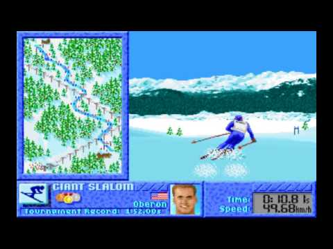 Winter Challenge (1991) [PC Longplay] [MS DOS]