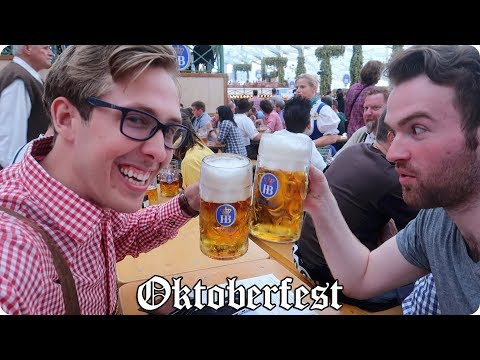 The BIGGEST Beer Festival in the WORLD! Oktoberfest 2017 in Munich, Germany