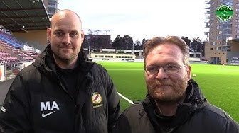 Möte Eskilstuna Södra FFs tränare - Thord Hermansson och Marcus Aalto