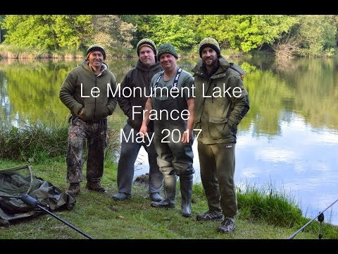 Carp Fishing In France. Le Monument Lake, Brittany. May 2017.