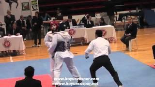 74 kg Ugur Gungor - Abdulkadir Sahin (2012 Turkish Senyor Taekwondo Championships)