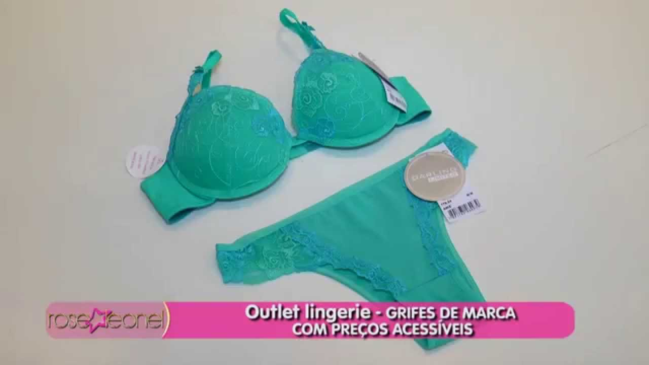 9dd9ecbc4 Outlet lingerie - GRIFES DE MARCA COM PREÇOS ACESSÍVEIS - YouTube