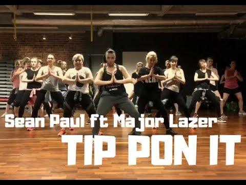 Sean Paul Ft Major Lazer- TIP PON IT- Zumba®️