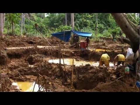 surigao del sur's backyard gold mining