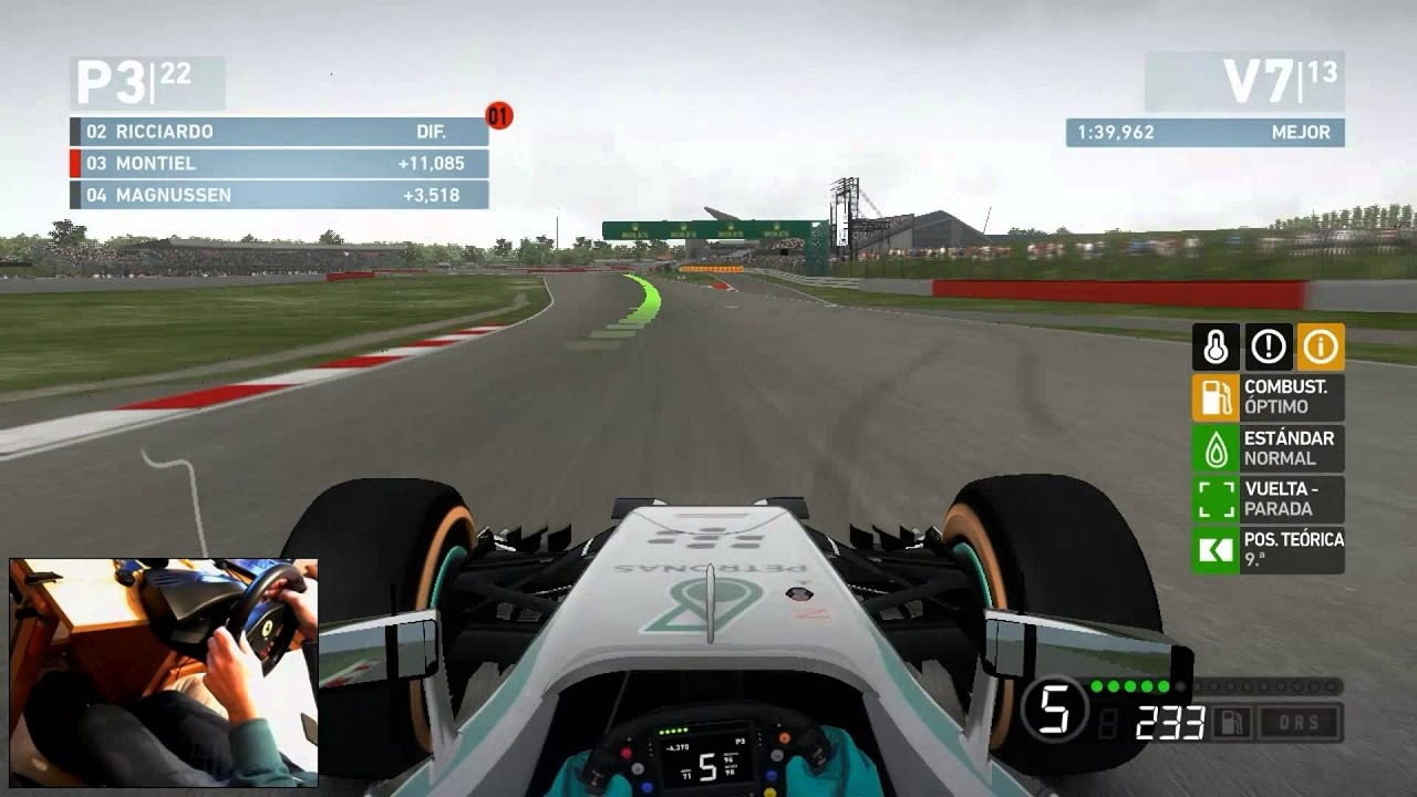 formula 1 2015 gp silverstone gameplay monty montiel youtube. Black Bedroom Furniture Sets. Home Design Ideas