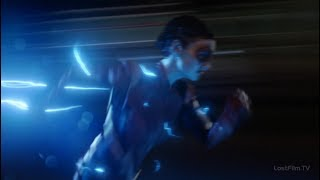 Молнии Траектории становятся синими   Флэш (2 сезон 16 серия)