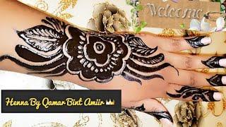 Sida Fudud Aad Ku Marinkarto Henna Sudani ( Beautiful Henna Sudan Design)  By Qamar Bint Amiir👑
