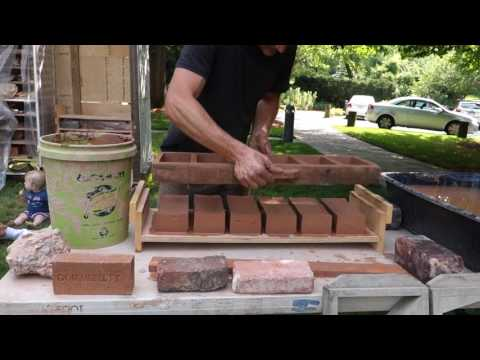 Making Bricks with Josh at Mobile Brick Factory in Baltimore