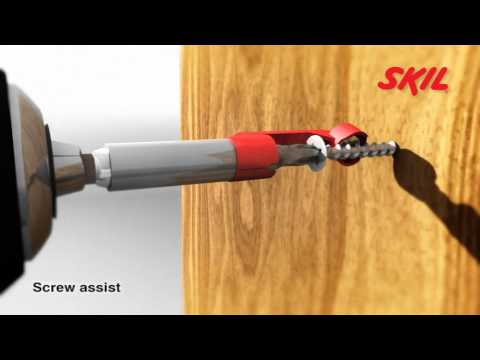 It's easy with the Skil Screw Assist!