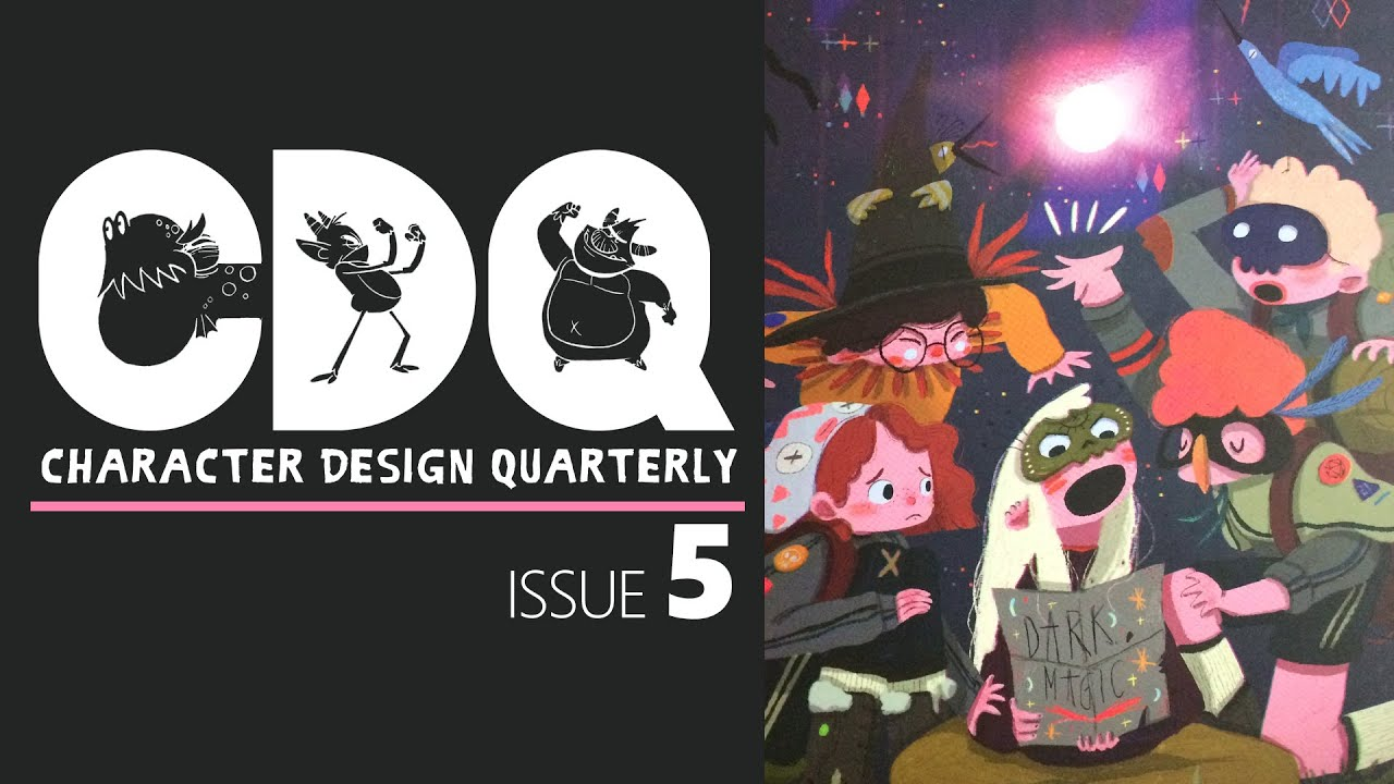 Cdq Character Design Quarterly Magazine Issue 5 Quick Look