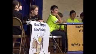elementary schools battle of the books 2015