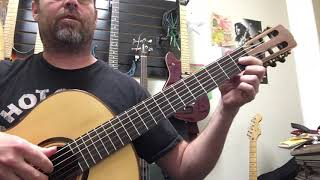 """How to play Blur """"this is a low"""" guitar lesson"""