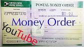 How to fill out a usps money order youtube 818 ccuart Images