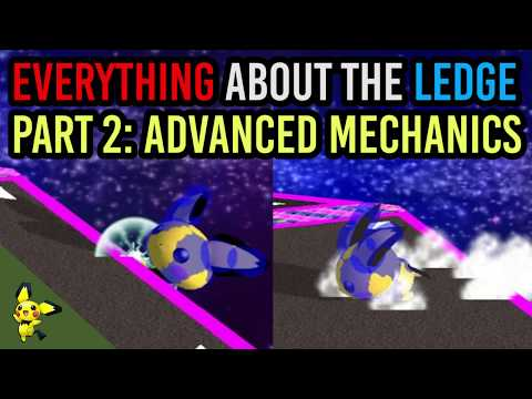 EVERYTHING You Need To Know About The Ledge - Part 2: Advanced Mechanics - Super Smash Bros. Melee