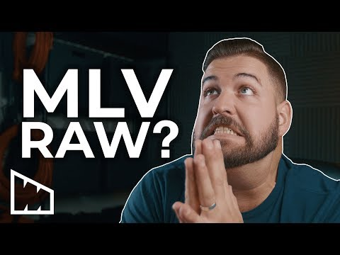 What To Do With MLV Magic Lantern RAW? –  The Easy Way