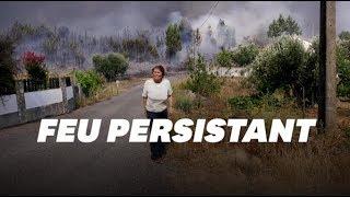 Le Portugal fait face à un incendie d'une