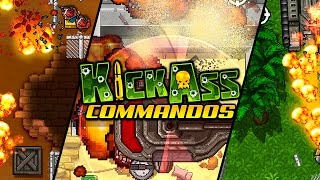 Official Kick Ass Commandos (by Anarchy Enterprises) Launch Trailer (iOS/Android)
