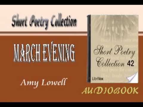 an analysis of amy lowells patterns In patterns, amy lowell explores the hopeful liberty of women in the early 20th century through a central theme critical analysis of amy lowell's patterns.