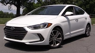 2017 Hyundai Elantra Limited - Start Up, Road Test & In Depth Review