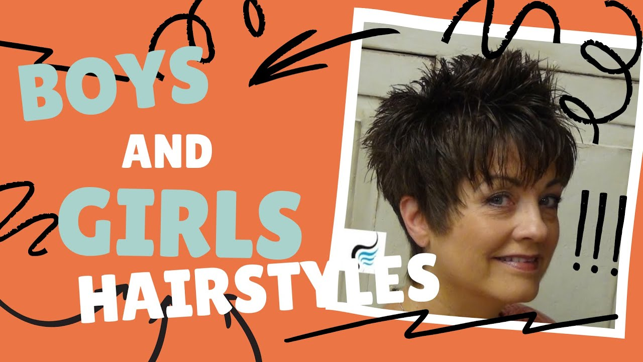 Boy Hair Style: How To Cut: Short Hairstyles For Women (Short Haircuts