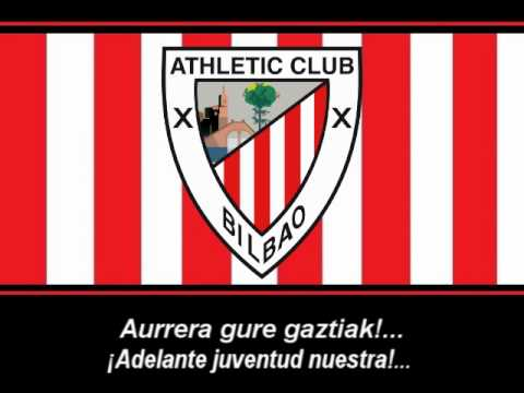 Athleticen Ereserkia - Himno del Athletic Bilbao (Letra)