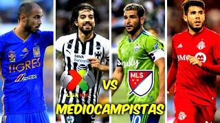 5 MEDIOCAMPISTAS MÁS CAROS de la LIGA MX vs 5 MEDIOCAMPISTAS MÁS CAROS de la MLS