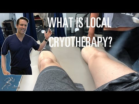 Local cryotherapy to help your joints and muscles feel better
