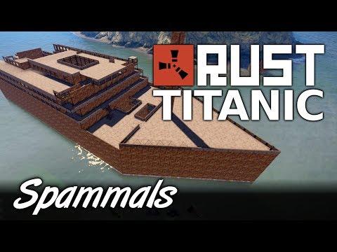Titanic Rust | I BUILT THE TITANIC IN RUST!