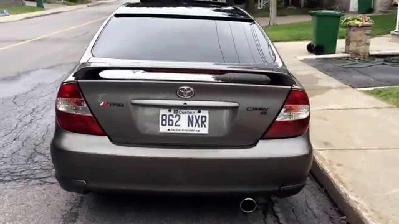 Toyota camry TRD bodykit modified - YouTube