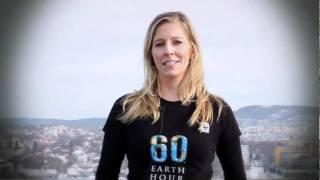 WWFs Nina Jensen støtter Earth Hour