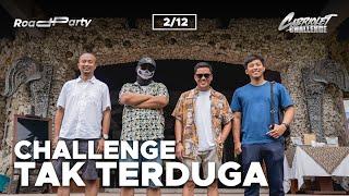 CABRIOLET CHALLENGE: CHALLENGE TAK TERDUGA (2/12)