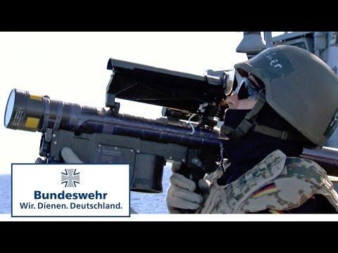 Schießen mit der Fliegerfaust: wenn feindliche Flugzeuge auf See angreifen - Bundeswehr