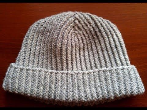 Как правильно связать спицами шапку