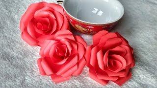 як зробити орігамі з паперу троянду