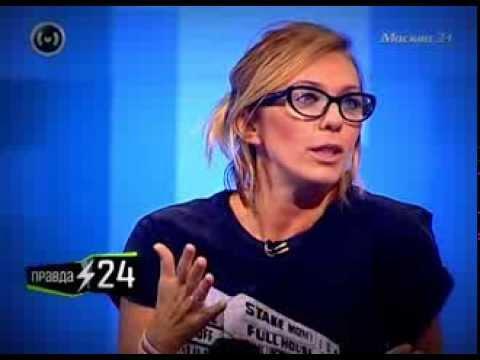 Правда 24: Маргарита Митрофанова рассказала о юморе на телевидении